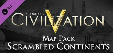 Купить Sid Meier's Civilization V - Scrambled Continents Map Pack