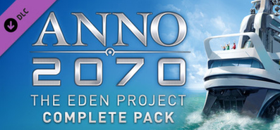 Купить Anno 2070 DLC 1 - The Eden Project Complete Pack