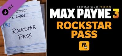 Max Payne 3 Rockstar Pass для STEAM