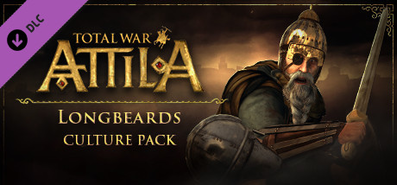 Купить Total War: ATTILA - Longbeards Culture Pack