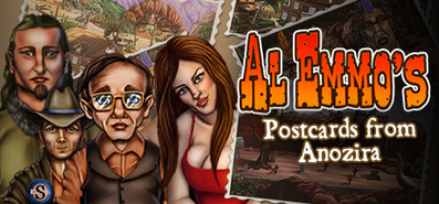 Купить Al Emmo's Postcards from Anozira