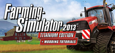 Купить Farming Simulator 2013: TITANIUM Edition + Modding Tutorials