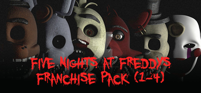 Купить Five Nights at Freddy´s Franchise Pack (1-4)