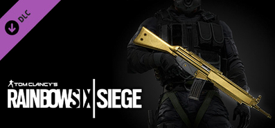 Купить Tom Clancy's Rainbow Six Siege - Gold Weapon Skin