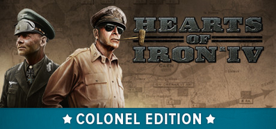 Hearts of Iron IV: Colonel Edition для STEAM