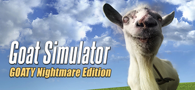 Goat Simulator. Goaty Nightmare Edition для STEAM