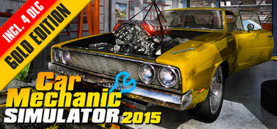 Купить Car Mechanic Simulator 2015 Gold Edition