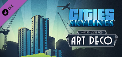 Купить Cities: Skylines - Content Creator Pack: Art Deco