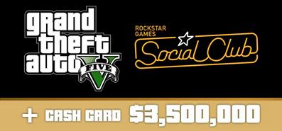Купить Grand Theft Auto V + Online + $3,500,000