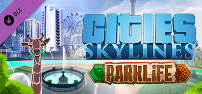 Cities: Skylines - Parklife для STEAM