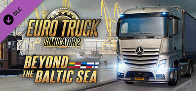 Купить Euro Truck Simulator 2 - Beyond the Baltic Sea
