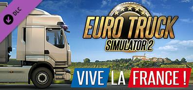Купить Euro Truck Simulator 2 - Vive la France !